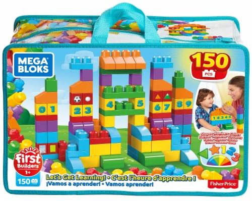 Mega Bloks® Fisher-Price® Let's Get Learning Building Set Perspective: front