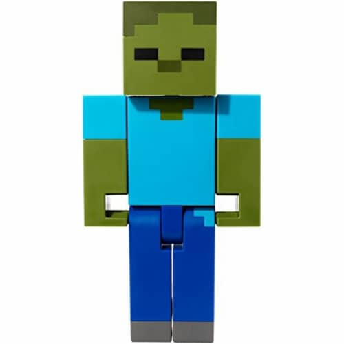 Minecraft Zombie Large Scale Action Figure Perspective: front