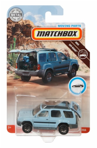 Mattel Matchbox® Moving Parts 2000 Nisaan Xterra Car Perspective: front
