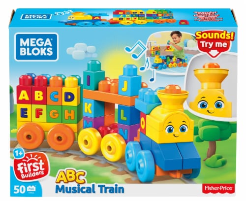 Mega Bloks® ABC Musical Train Perspective: front