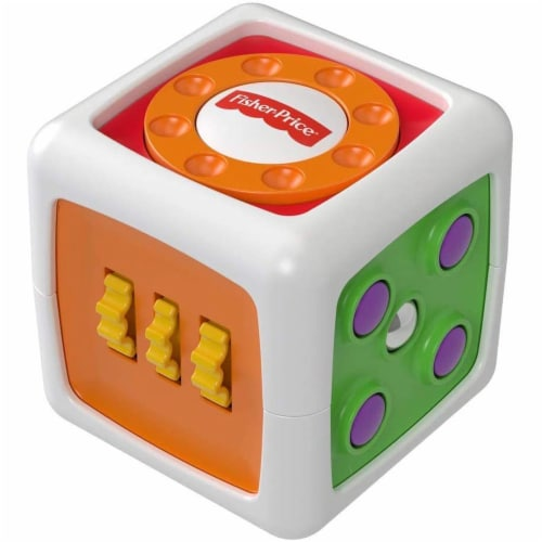 Fisher-Price My First Fidget Cube Perspective: front