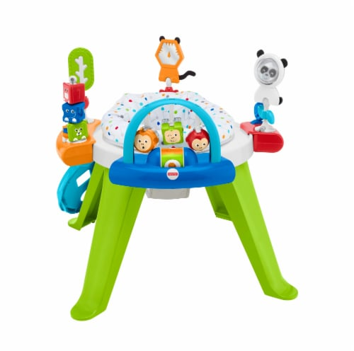 Fisher-Price® Retro Roar 3-in-1 Spin & Sort Activity Center Perspective: front