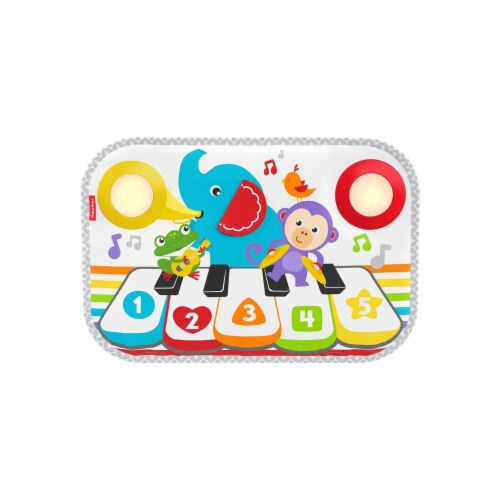 Fisher-Price Kick & Play Piano Baby Playset Perspective: front