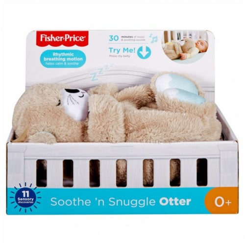 Fisher-Price Soothe 'n Snuggle Otter Perspective: front
