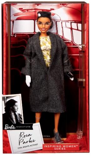 Mattel Barbie® Inspiring Women Rosa Parks Doll Perspective: front