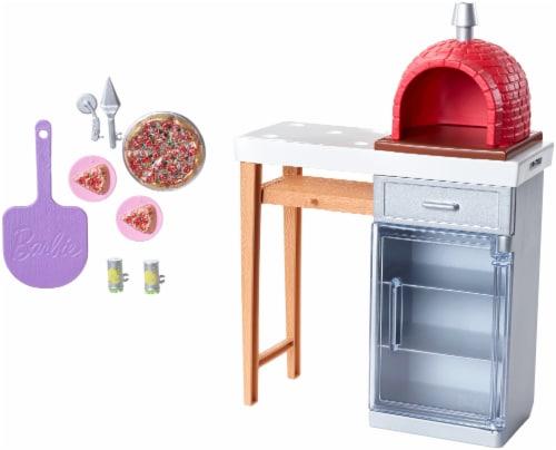 Mattel Barbie® Outdoor Furniture Brick Oven Playset Perspective: front