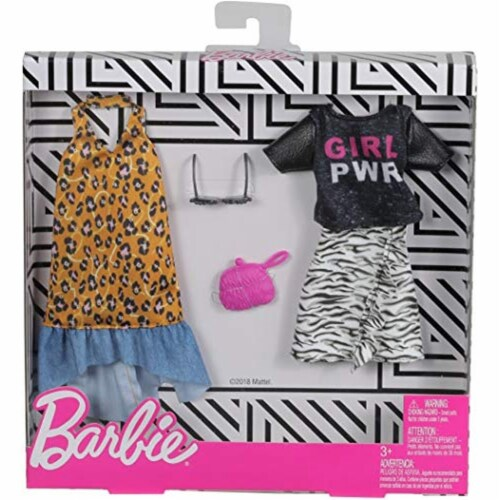 Mattel Barbie® Fashion Animal Print Perspective: front
