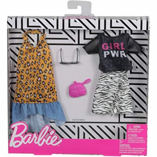 Mattel Barbie® Fashion Animal Print Perspective: front