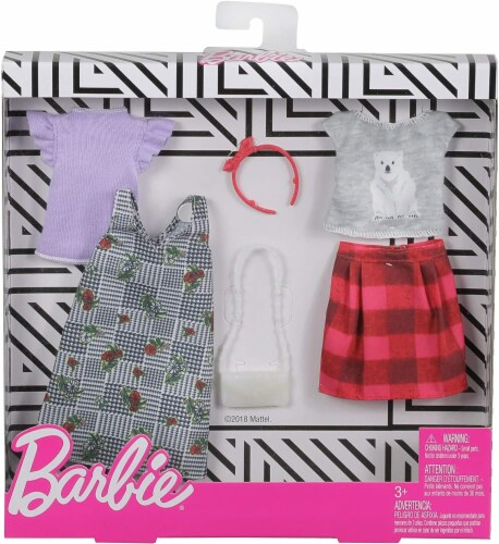 Barbie Fashion - Mix Checks and Nature Perspective: front