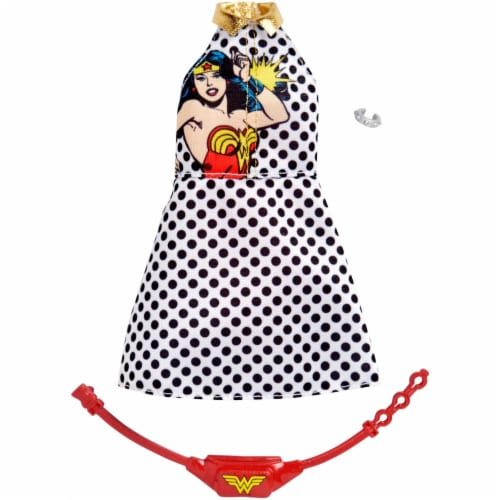 Barbie Fashions - Wonder Woman Polka Dots Perspective: front