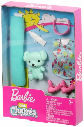 Mattel Barbie® Club Chelsea Doll Accessories Perspective: front