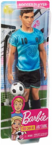 Mattel Barbie® Soccer Player Doll Perspective: front