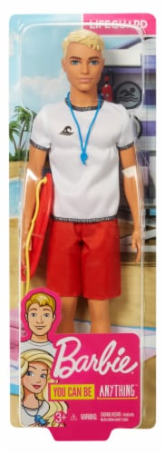 Mattel Barbie® Lifeguard Doll Perspective: front