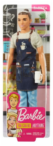 Mattel Barbie® Barista Doll Perspective: front