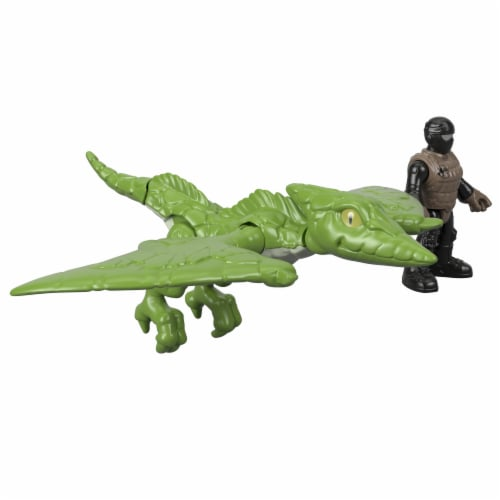 Fisher-Price® Imaginext Jurassic World Pterodactyl Dinosaur Action Figure Set Perspective: front