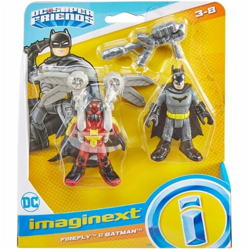 Fisher-Price Imaginext DC Super Friends - Firefly & Batman Perspective: front