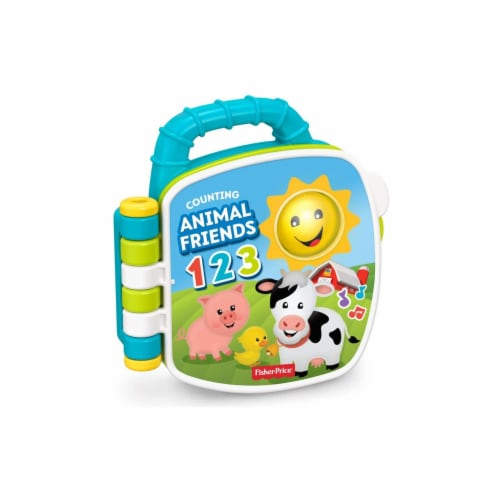 Fisher-Price Laugh & Learn Counting Animal Friends Perspective: front