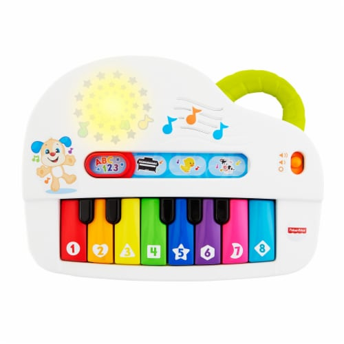 Fisher-Price® Laugh & Learn™ Silly Sounds Light-Up Piano Perspective: front
