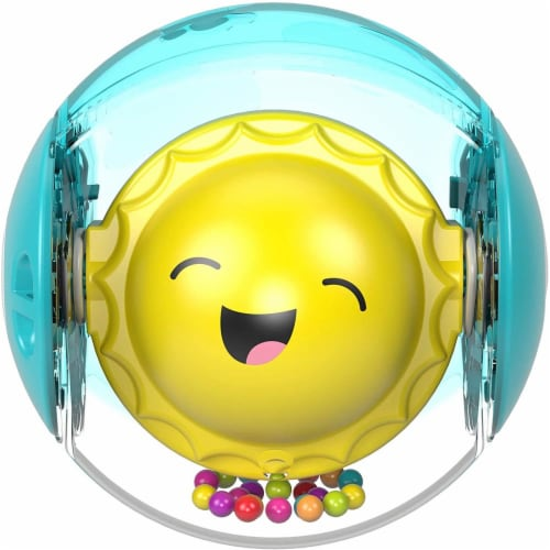 Fisher-Price Hello Sunshine Rattle Ball Perspective: front