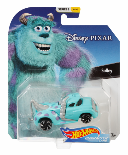 Mattel Hot Wheels® Sully Disney Vehicle Perspective: front
