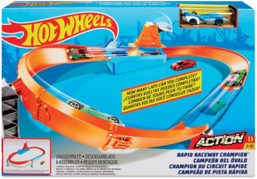 Mattel Hot Wheels® Drift Master Champion Playset Perspective: front