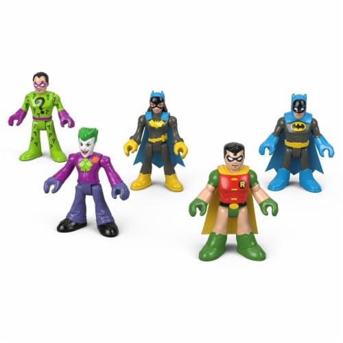 Fisher-Price® Imaginext® DC Heroes & Super Villains Figure Set Perspective: front
