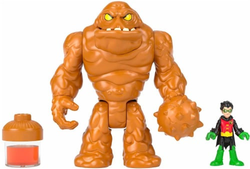Imaginext Fisher-Price DC Super Friends - Oozing Clayface & Robin Perspective: front