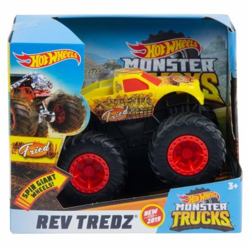 Hot Wheels Rev Tredz  - Regular Cab Monster Truck Perspective: front