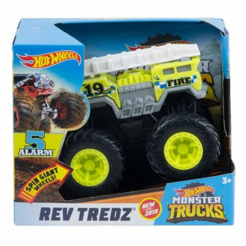 Hot Wheels Rev Tredz - 5 Alarm Monster Truck Perspective: front