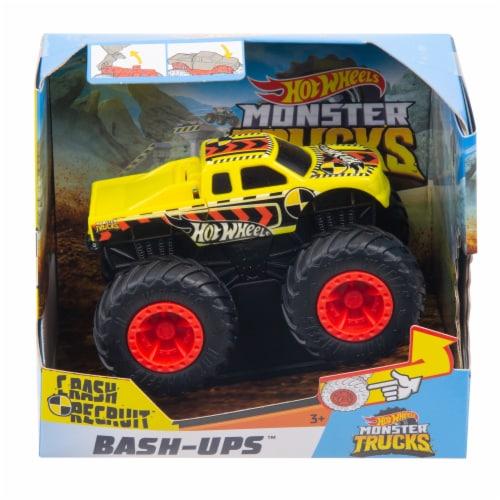 Mattel Hot Wheels® Monster Trucks - Crash Recruit Perspective: front