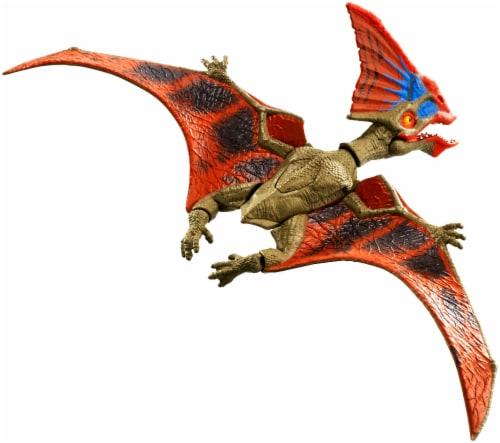 Mattel Jurassic World Savage Strike Tapejara Action Figure Perspective: front