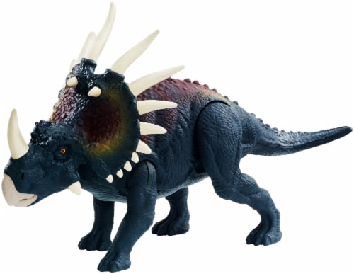 Mattel Jurassic World Savage Strike Styracosaurus Action Figure Perspective: front