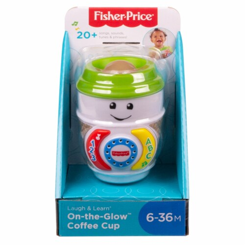 Fisher-Price® Laugh and Learn On-the-Glow Coffee Cup Perspective: front