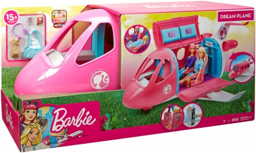 Mattel Barbie® Dream Plane Playset Perspective: front