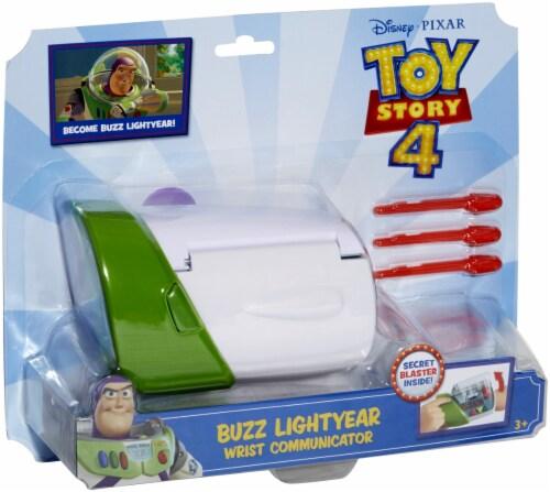 Mattel Disney Pixar Toy Story 4 Buzz Lightyear Wrist Communicator Perspective: front