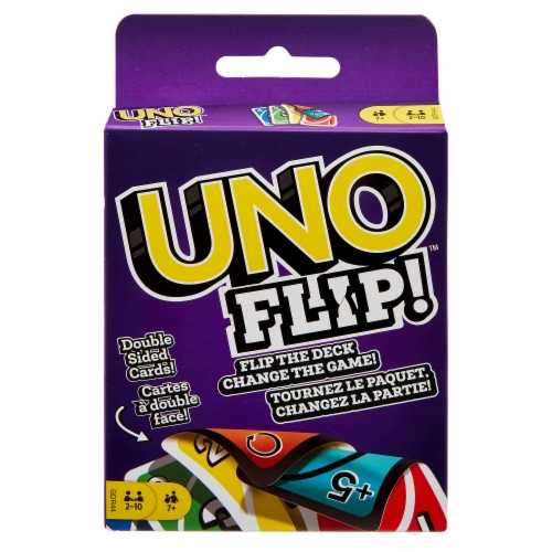 Mattel UNO Flip! Card Game Perspective: front