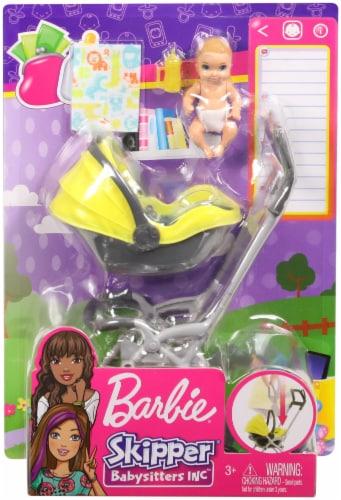Mattel Barbie® Skipper Babysitters INC Doll Playset Perspective: front