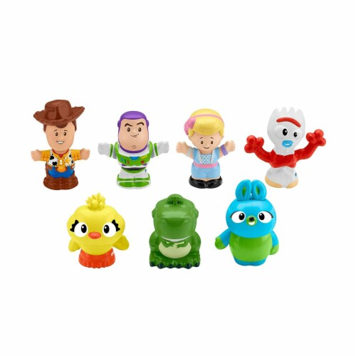 Toy Story Fisher-Price Little People 4 Figure Pack Perspective: front