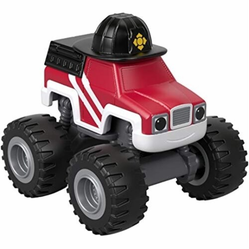 Fisher-Price® Nickelodeon Blaze & The Monster Machines Fire Rescue Firefighter Vehicle Perspective: front