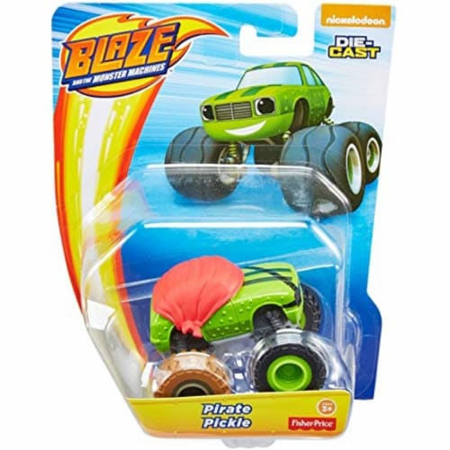 Fisher-Price® Nickelodeon Blaze & The Monster Machines Pirate Pickle Toy Perspective: front