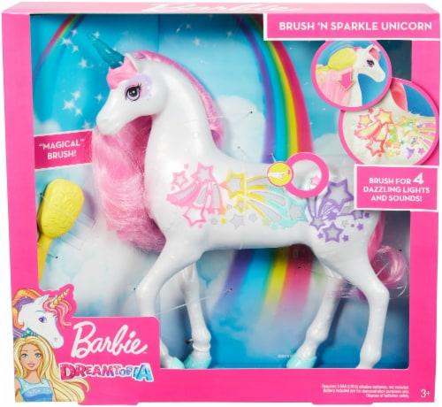 Mattel Barbie® Dreamtopia Brush n Sparkle Unicorn Perspective: front