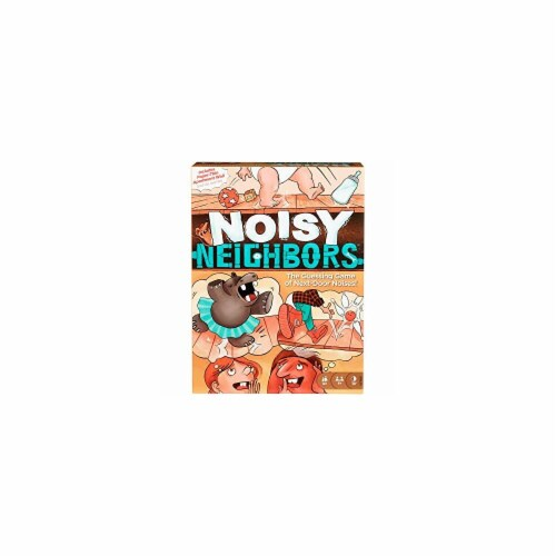 Mattel MTTGFM60 Noisy Neighbors Board Game Perspective: front