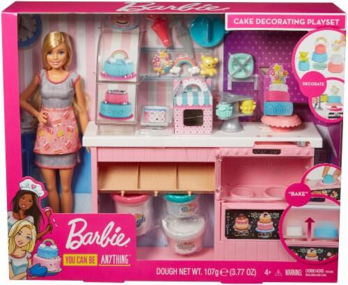 Mattel Barbie® Cake Decorating Playset Perspective: front