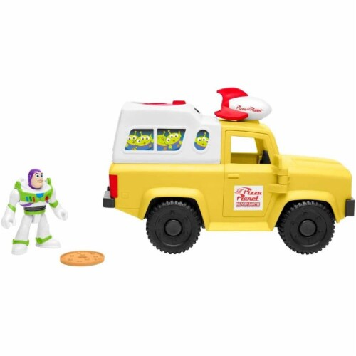 Fisher-Price Disney/Pixar Toy Story 4 Pizza Planet Truck Perspective: front