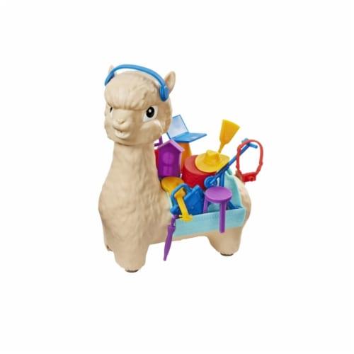 Mattel Hackin' Packin' Alpaca Perspective: front