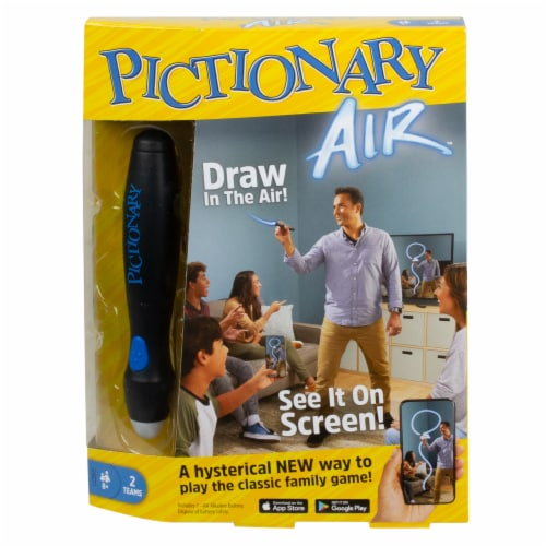 Mattel Pictionary Air Board Game Perspective: front