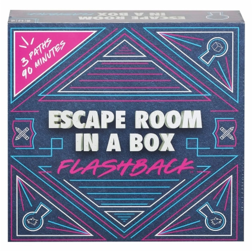 Escape Room In A Box Flashback The Game Perspective: front