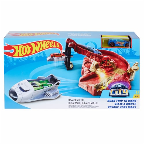 Mattel Hot Wheels® Road Trip to Mars Perspective: front