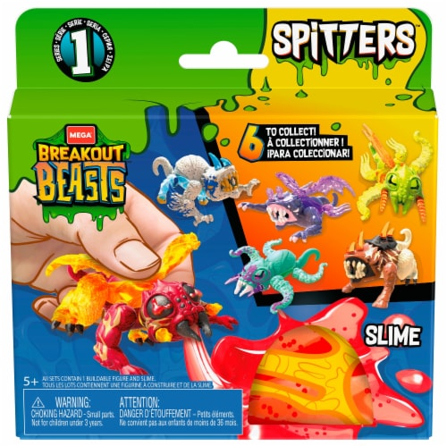 Mattel Breakout Beasts Spitters - Assorted Perspective: front