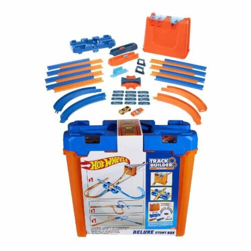 Mattel Hot Wheels® Track Builder Deluxe Stunt Box Track Set Perspective: front